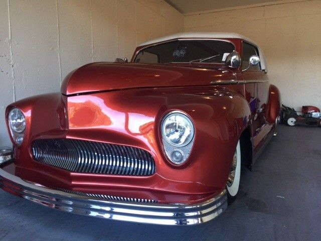 removable top 1949 Plymouth hot rod