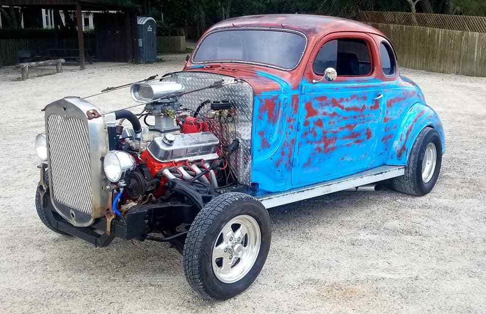 Street Rod 1937 Plymouth Coupe hot rod