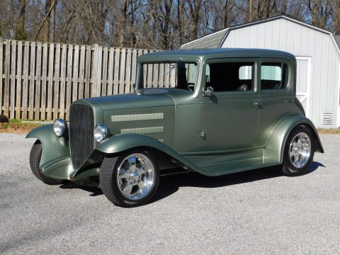 all steel 1932 Chevrolet Victoria hot rod for sale