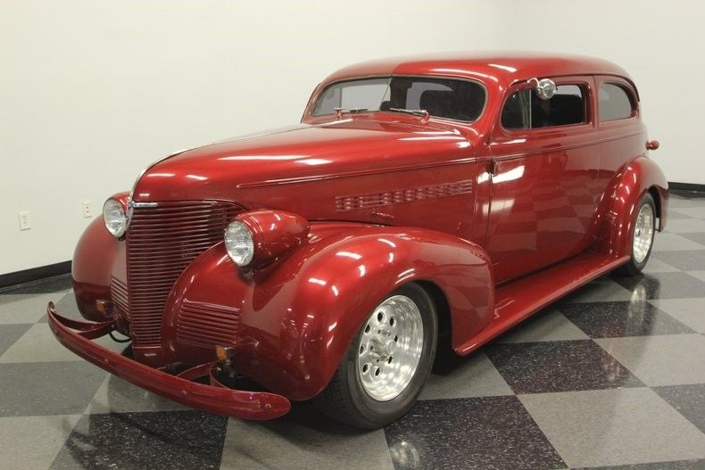 Caddy powered 1939 Chevrolet 85 street rod hot rod