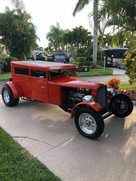 chopped 1929 Chevrolet hot rod for sale