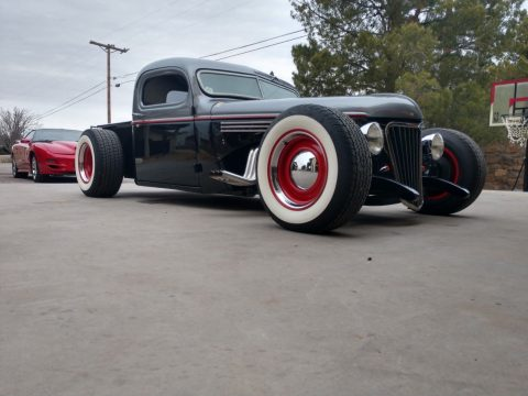 chopped 1941 Chevrolet Pickup hot rod for sale
