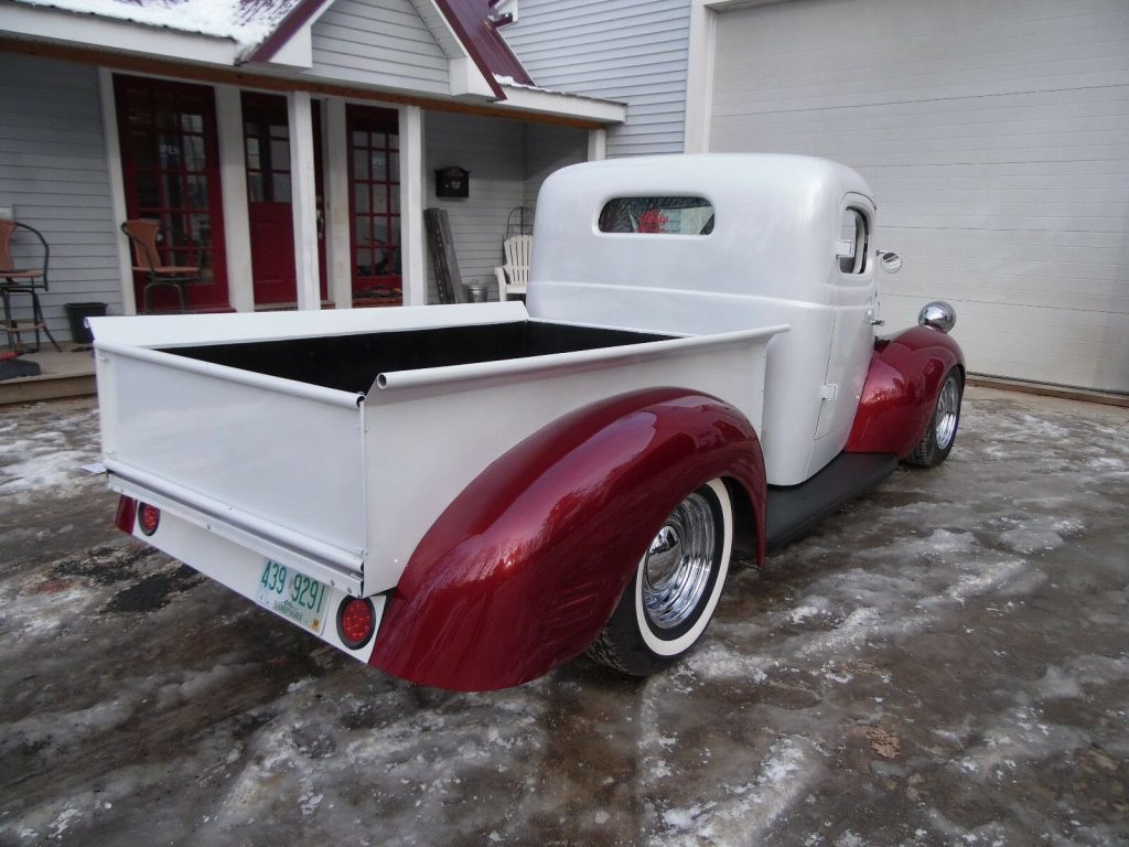 chopped 1947 Dodge Pickup hot rod