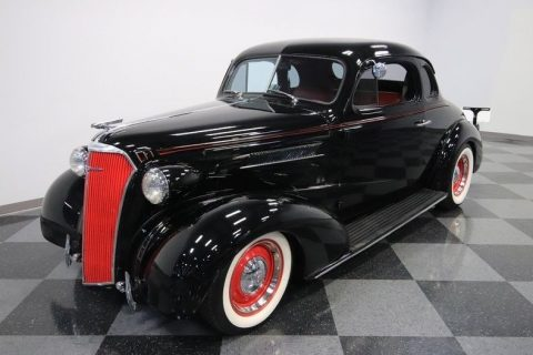 crate small block 1937 Chevrolet Master Deluxe hot rod for sale