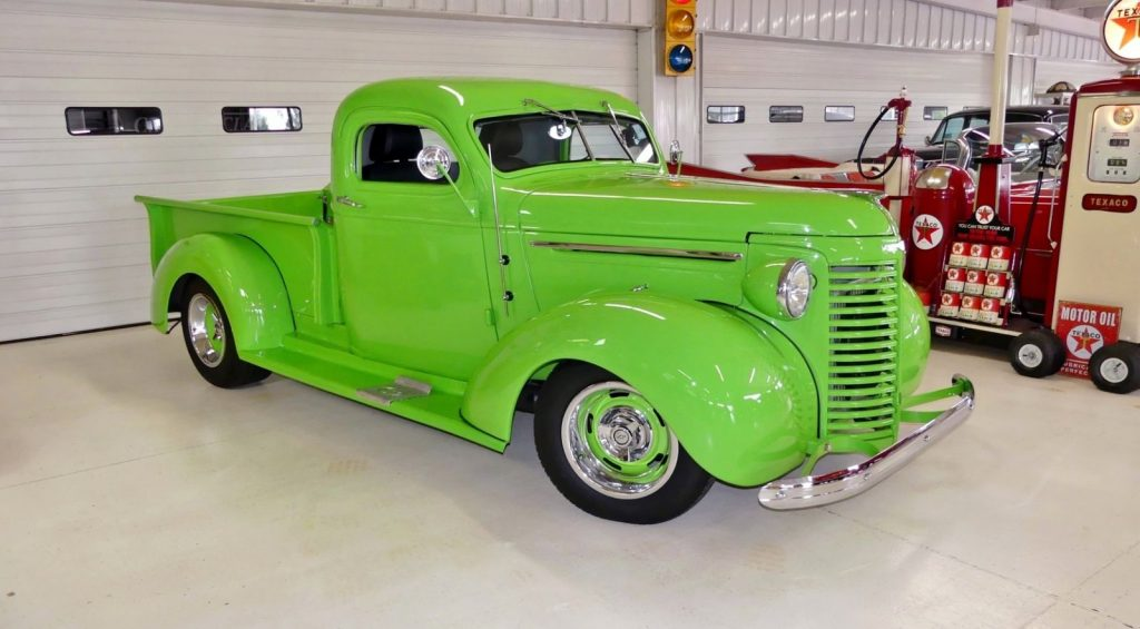green beast 1939 Chevrolet Pickup hot rod