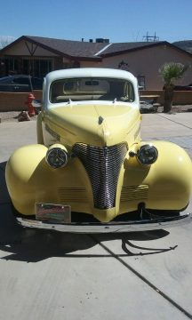 low mileage 1939 Chevrolet Coupe hot rod for sale