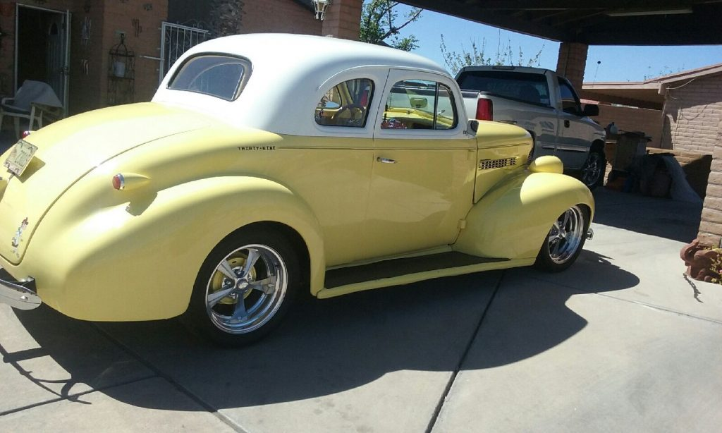 low mileage 1939 Chevrolet Coupe hot rod