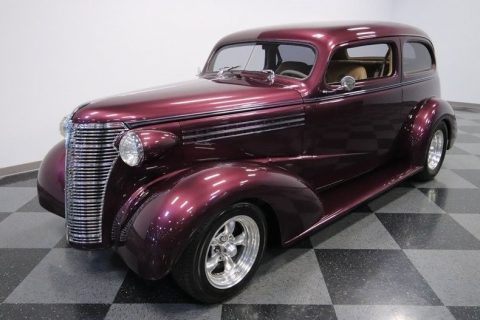 low miles 1938 Chevrolet Sedan hot rod for sale