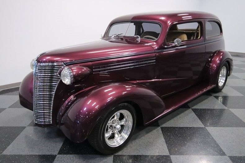 low miles 1938 Chevrolet Sedan hot rod