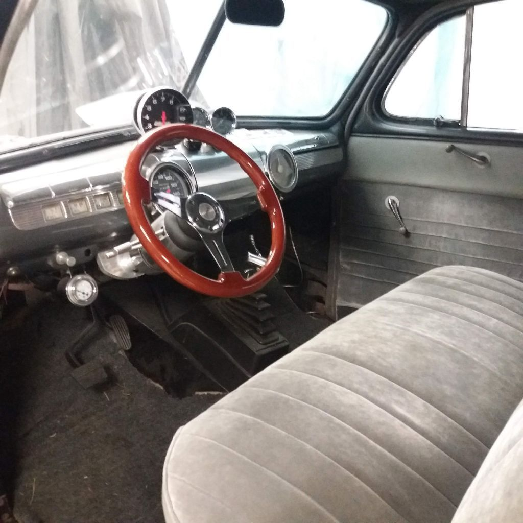 low miles since completed 1947 Ford Sedan hot rod