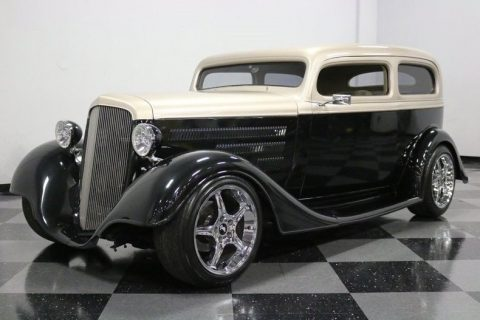 LS1 powered 1934 Chevrolet Sedan hot rod for sale