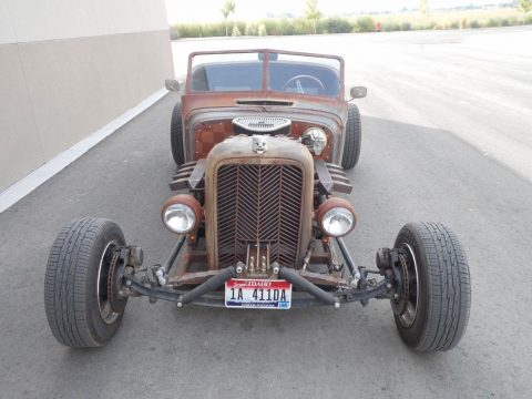 nice patina 1935 Chevrolet Roadster hot rod for sale