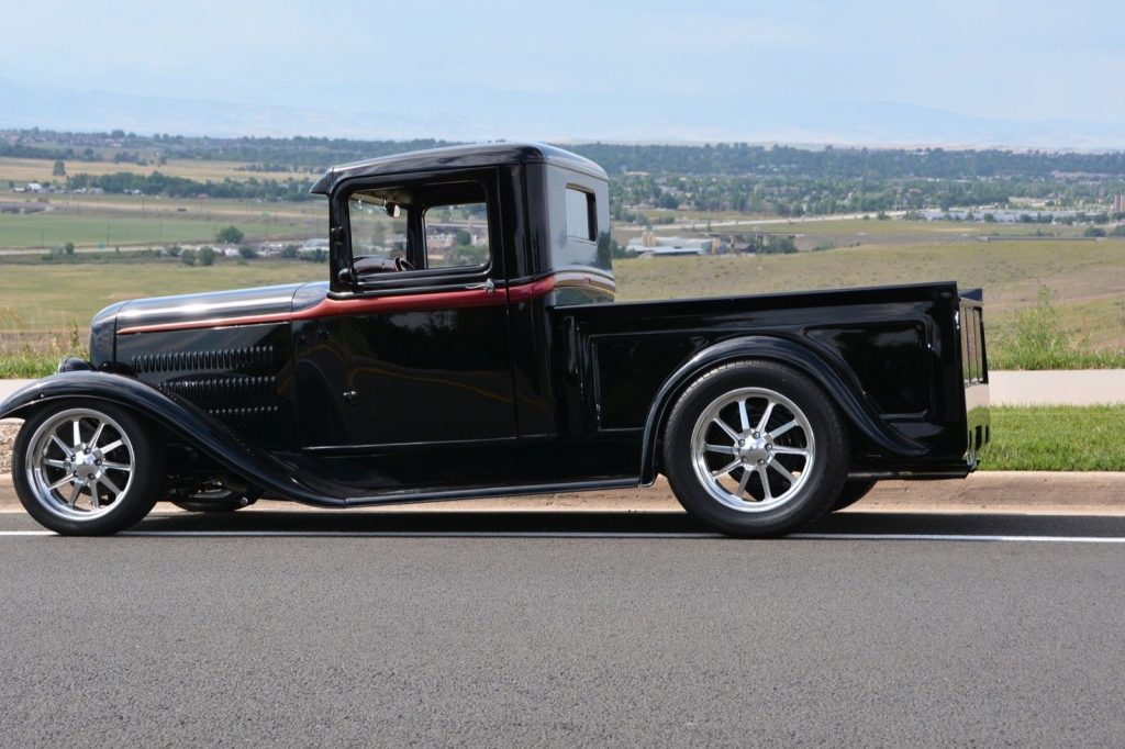 nicely customized 1934 Ford Pickup hot rod