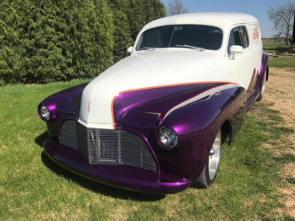 nicely customized 1947 Chevrolet Sedan Delivery hot rod