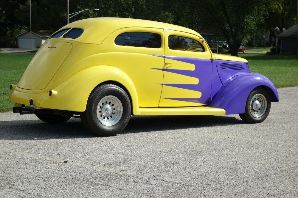 nicely detailed 1937 Ford Hot Rod
