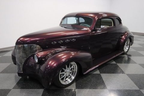 nicely modified 1939 Chevrolet Coupe hot rod for sale