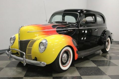 pampered 1940 Ford Deluxe hot rod for sale