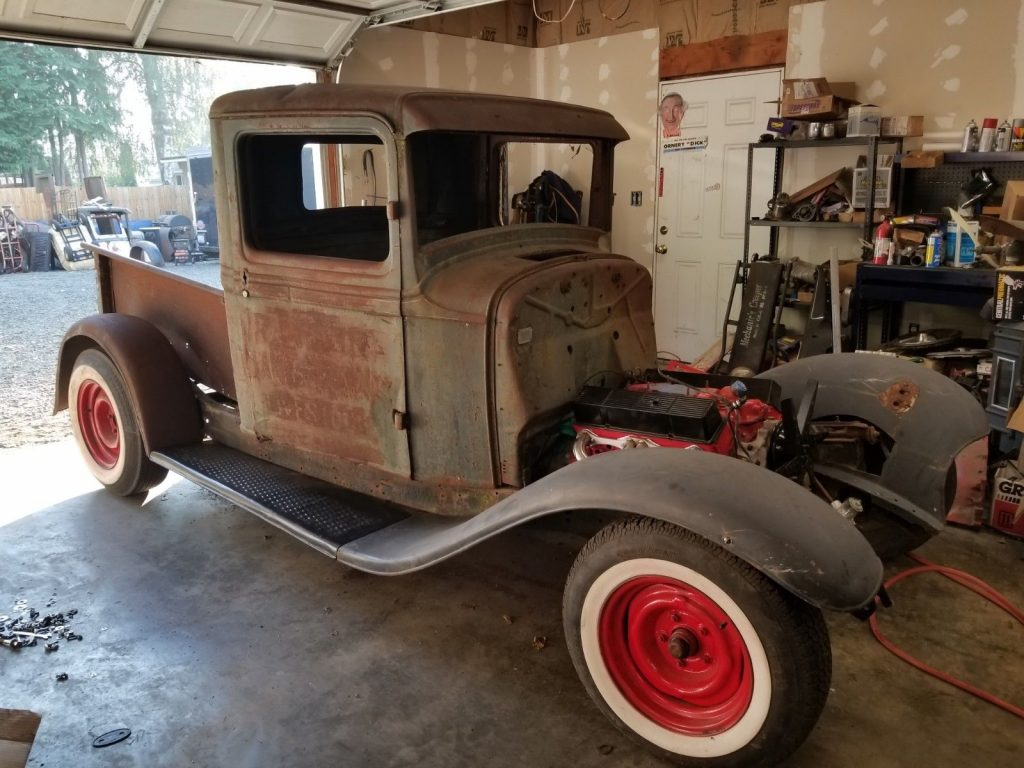 project 1934 Ford Pickup Hot Rod