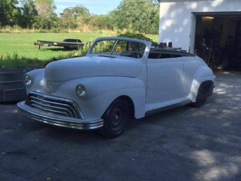 project 1941 Ford Custom Convertible hot rod for sale