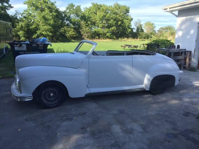 project 1941 Ford Custom Convertible hot rod