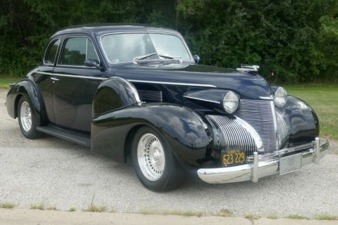rad luxury 1939 Cadillac Coupe hot rod for sale
