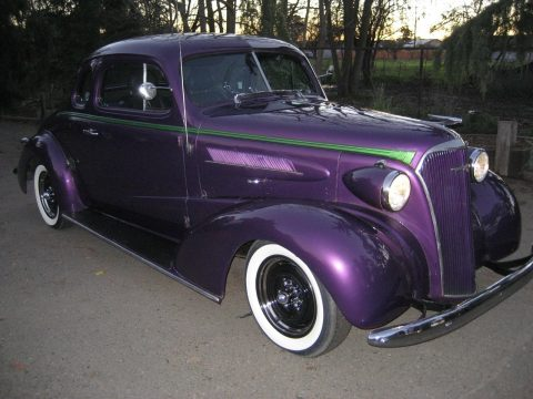 road ready 1937 Chevrolet Master Deluxe hot rod for sale