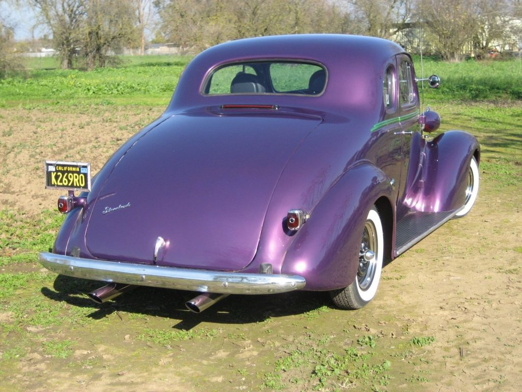 road ready 1937 Chevrolet Master Deluxe hot rod