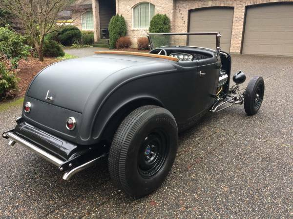 So-Cal style 1932 Ford Roadster hot rod