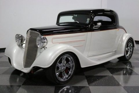 stunning 1934 Chevrolet 3 Window Coupe hot rod for sale