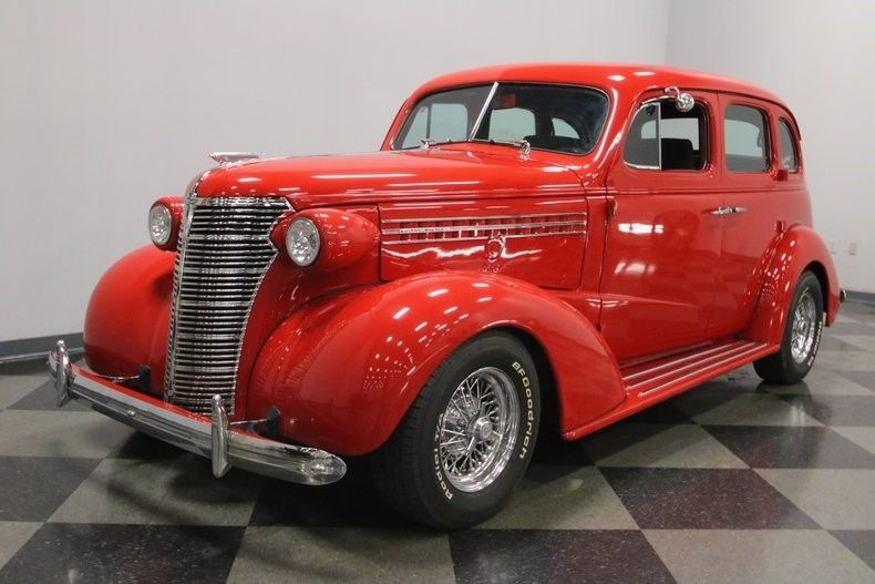 very nice 1938 Chevrolet Master Deluxe Sedan hot rod