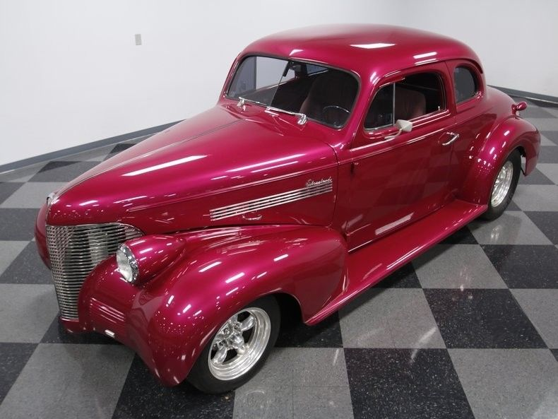 well built 1939 Chevrolet Coupe hot rod