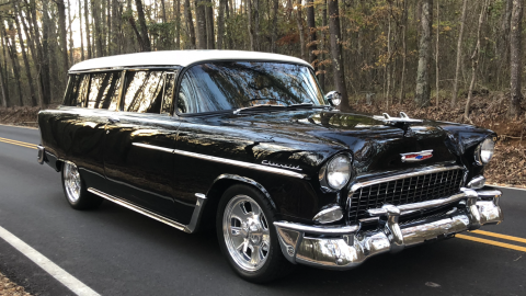 flawless 1955 Chevrolet Handyman Station Wagon Hot Rod for sale