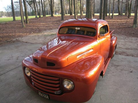 fullly customized 1948 Ford F 100 hot rod for sale