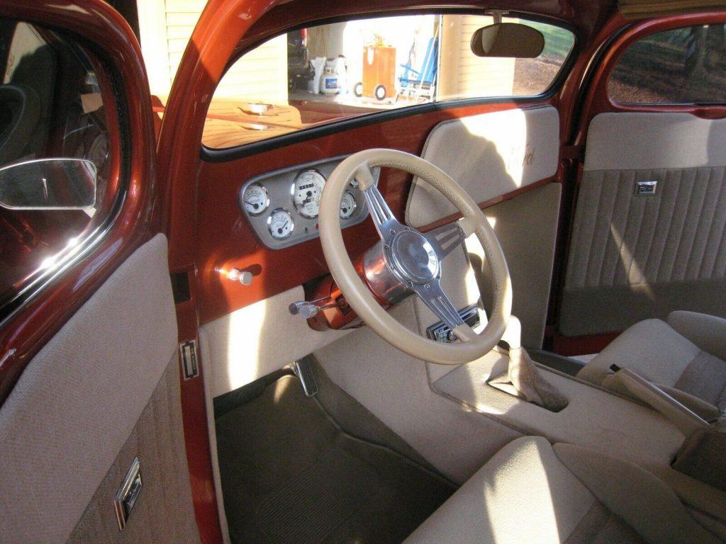 fullly customized 1948 Ford F 100 hot rod