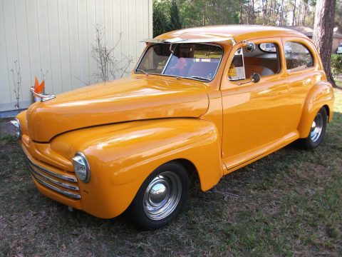 low miles 1947 Ford Tudor DELUXE hot rod for sale