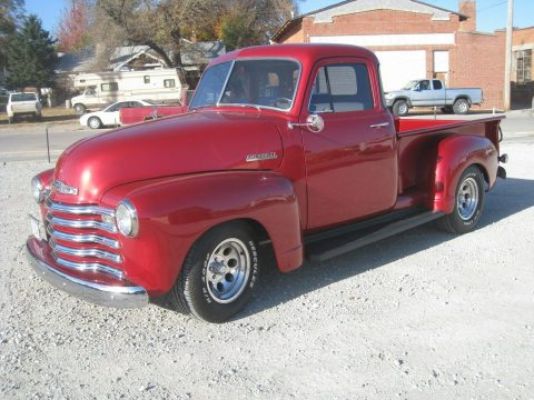 modern touches 1952 Chevrolet Pickup hot rod for sale