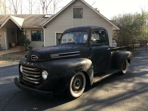 nice patina 1948 Ford Pickup hot rod for sale