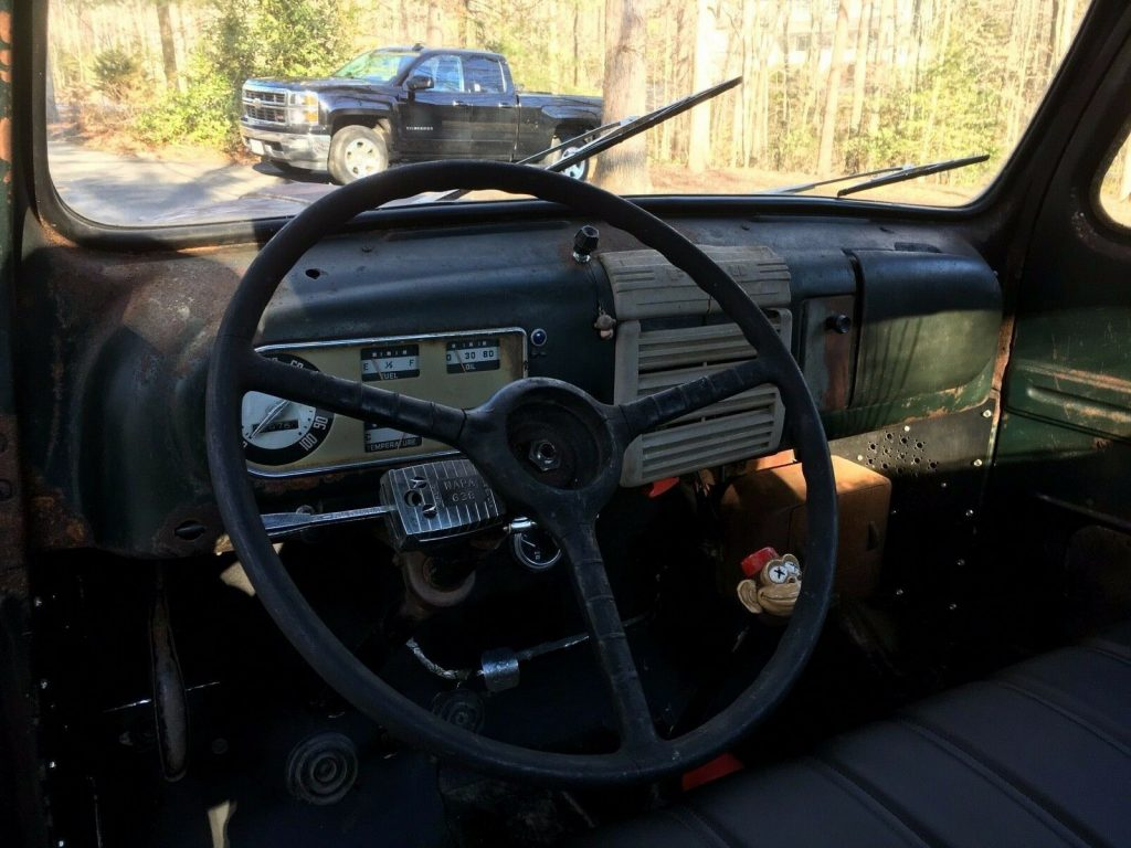 nice patina 1948 Ford Pickup hot rod