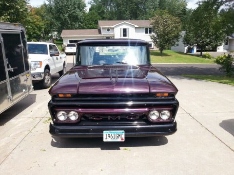 powerful beast 1961 GMC pickup hot rod for sale
