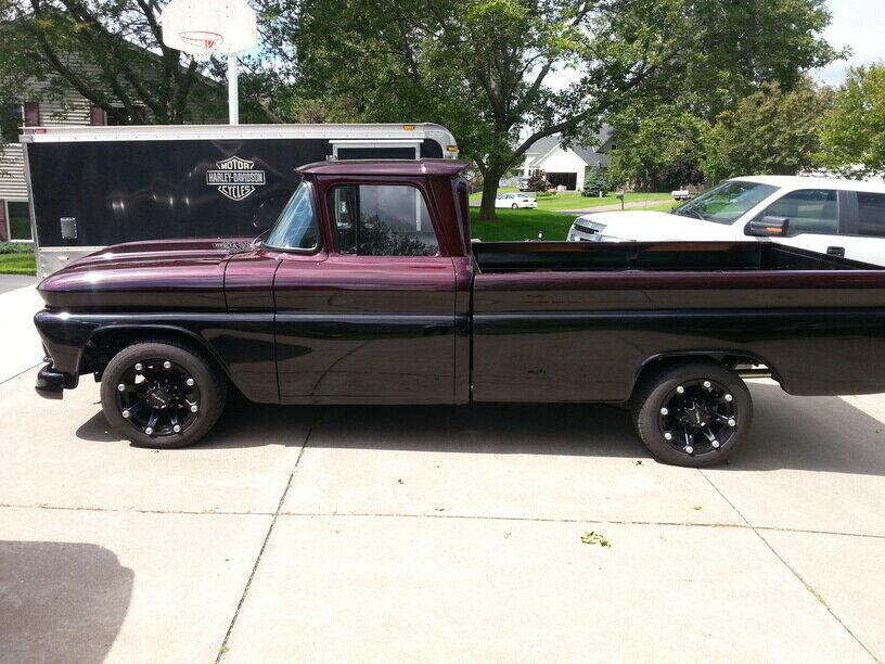 powerful beast 1961 GMC pickup hot rod
