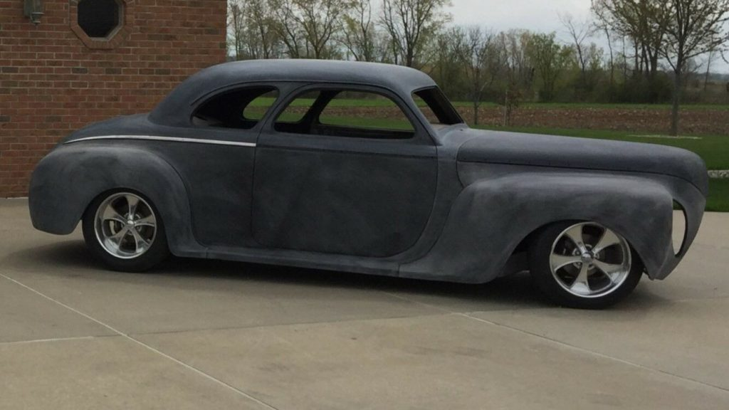 solid project 1941 Dodge Coupe hot rod
