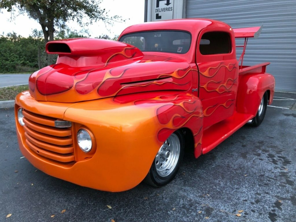 very powerful 1948 Ford Pickup hot rod