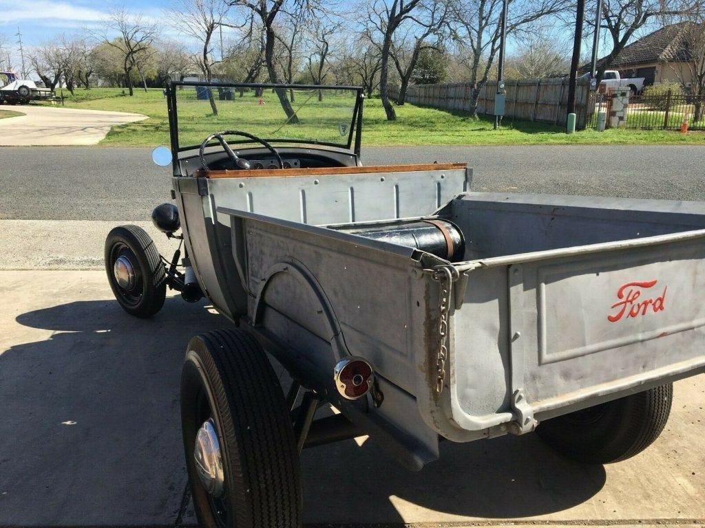all original parts 1929 Ford Model A hot rod