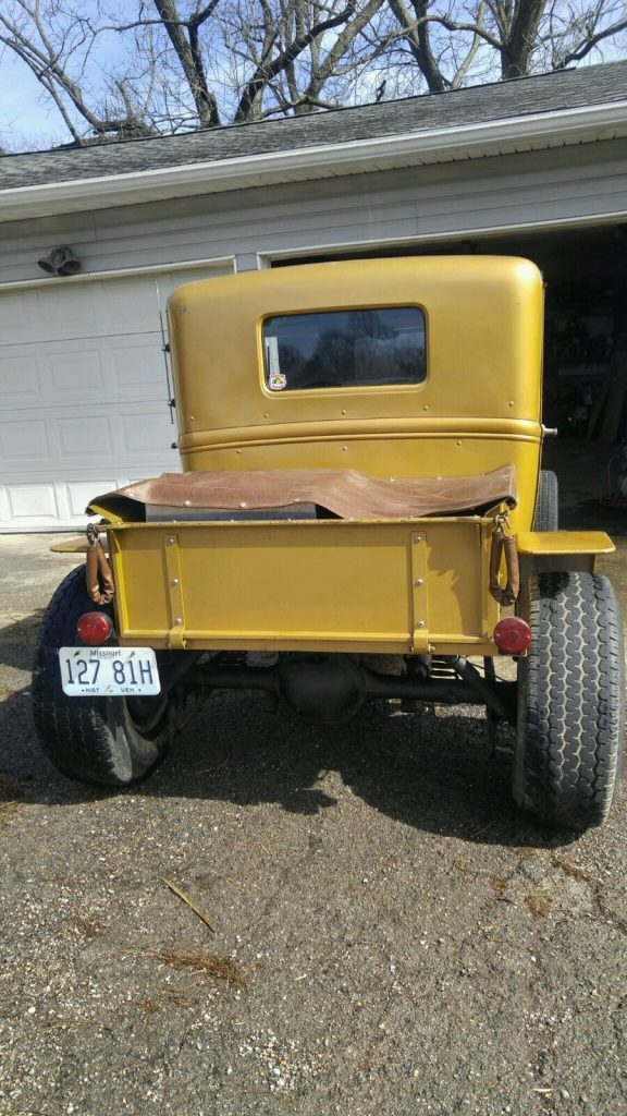 all steel body 1931 Ford Model A hot rod