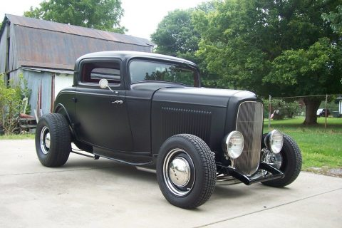 beautiful 1932 Ford 3 Window Coupe hot rod for sale