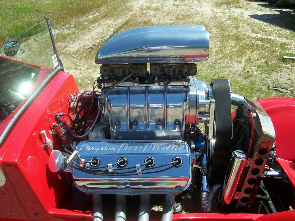 blown Hemi 1926 Chevrolet hot rod