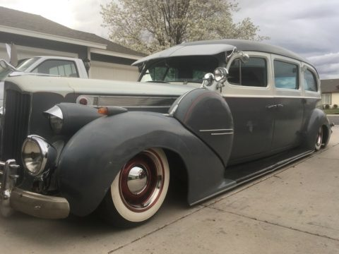 low rider 1940 Packard 200 hearse hot rod for sale