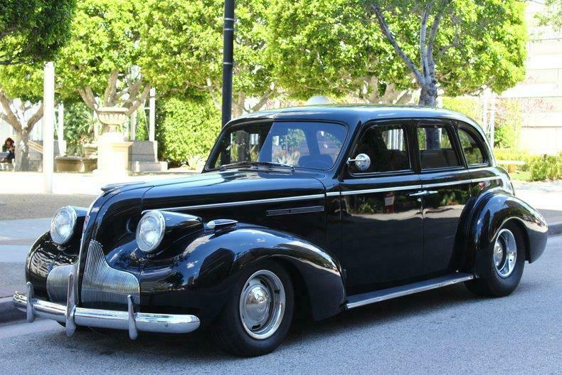 nicely modified 1938 Buick Sedan hot rod