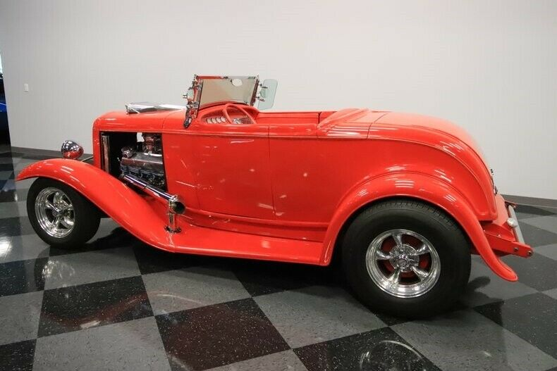 professionally built 1932 Ford roadster hot rod