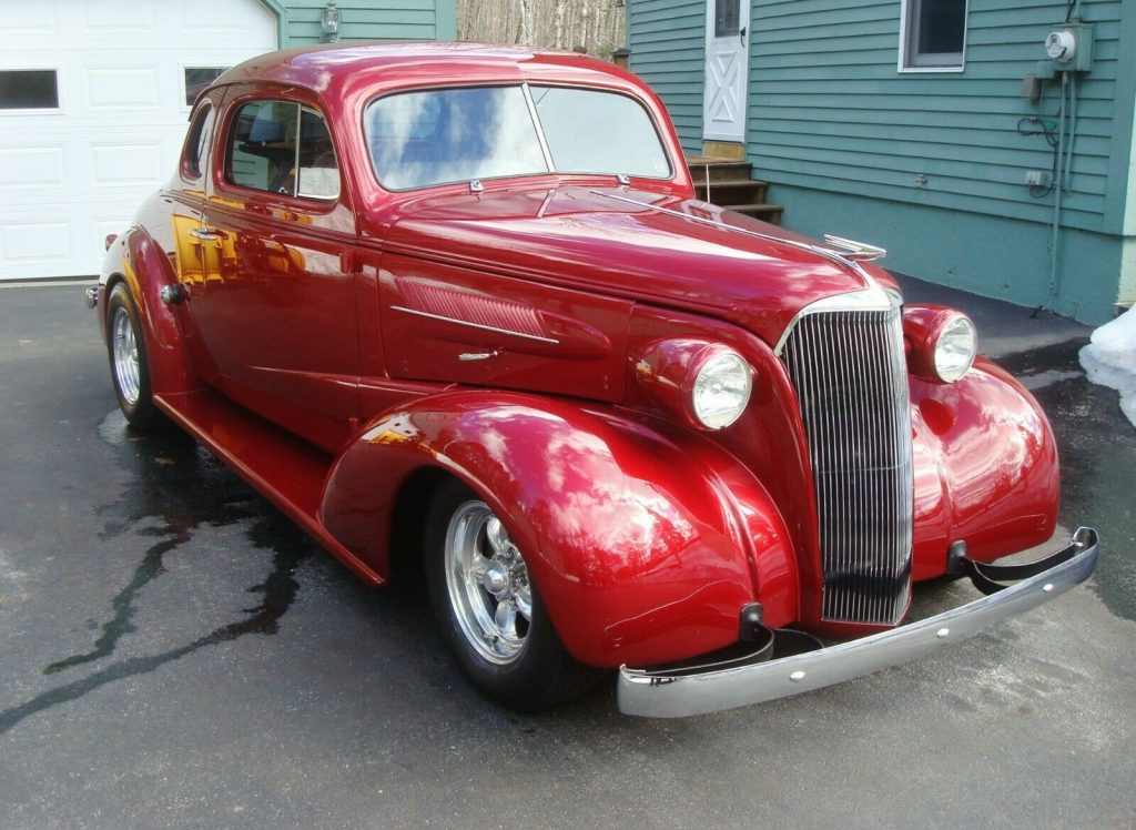 all steel 1937 Chevrolet Master Business Coupe hot rod